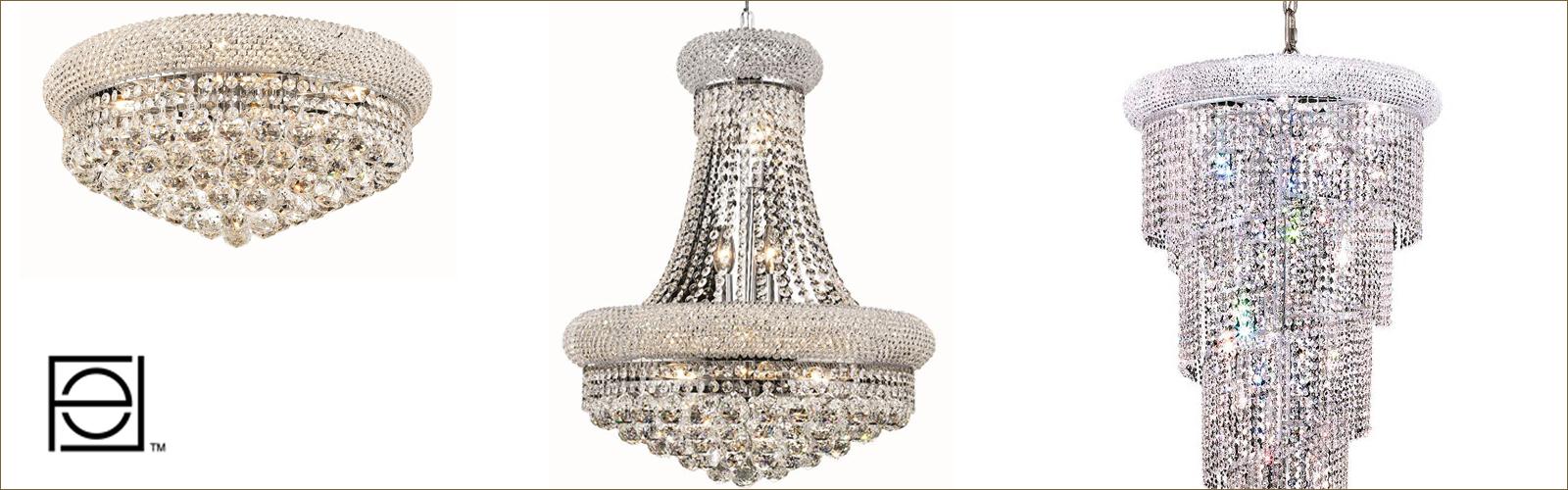 Elegant Lightingのシャンデリア