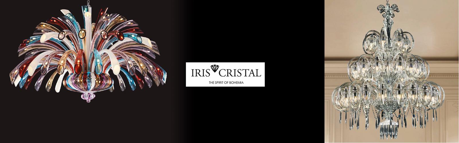 Iris Cristalのシャンデリア