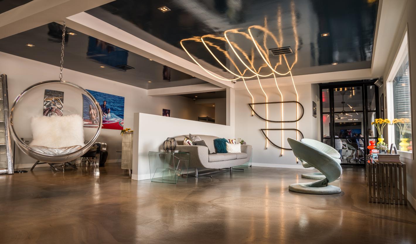 LUKE光るロープの照明の画像