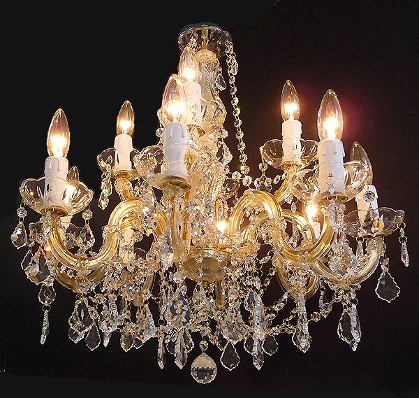 イタリア製シャンデリア12灯