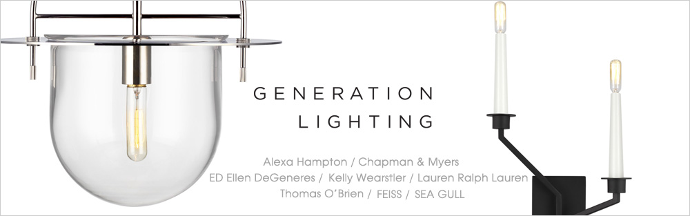 Generation Lighting,シャンデリア,海外照明,デザイン照明