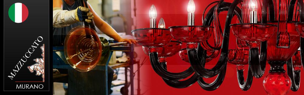 イタリア製ベネチアンガラス照明「マッツカート」