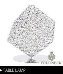 Schonbek テーブルランプ